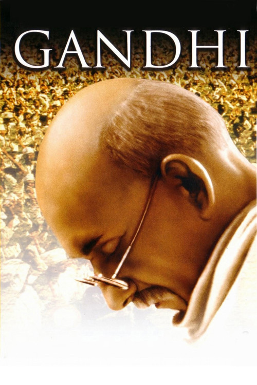 """Poster for the movie """"Gandhi"""""""