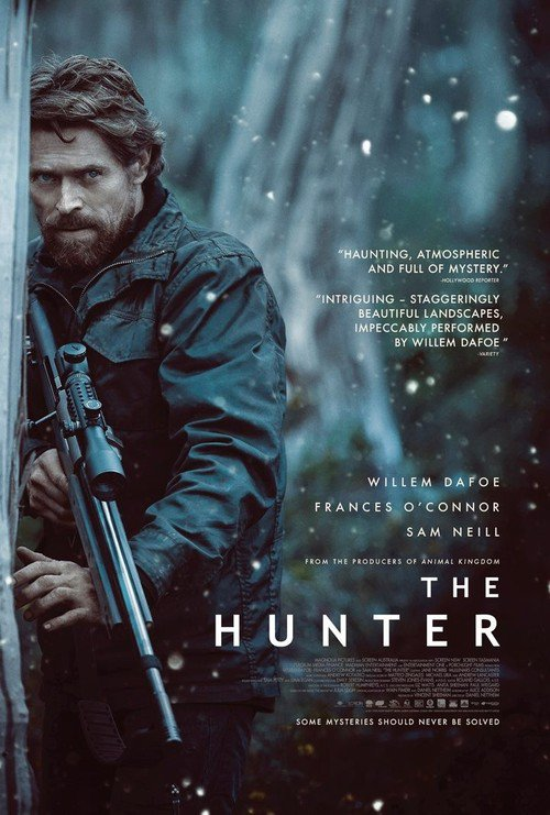 """Poster for the movie """"The Hunter"""""""