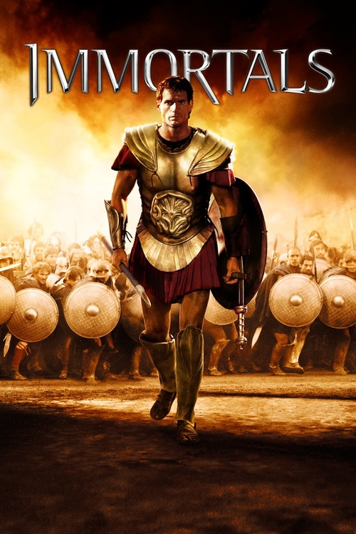 """Poster for the movie """"Immortals"""""""
