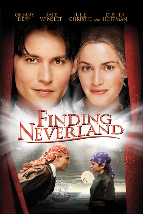 """Poster for the movie """"Finding Neverland"""""""