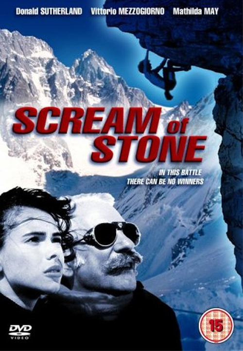 """Poster for the movie """"Scream of Stone"""""""