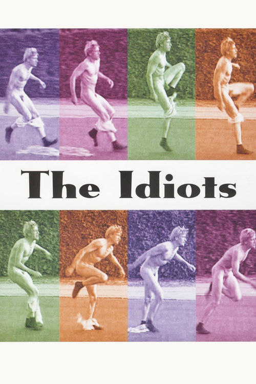 """Poster for the movie """"The Idiots"""""""
