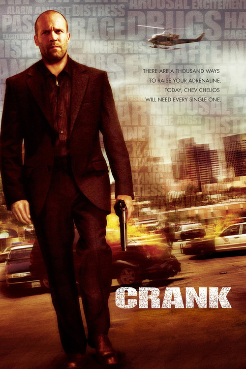 """Poster for the movie """"Crank"""""""