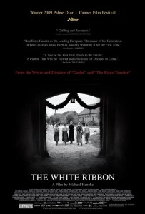 """Poster for the movie """"The White Ribbon"""""""