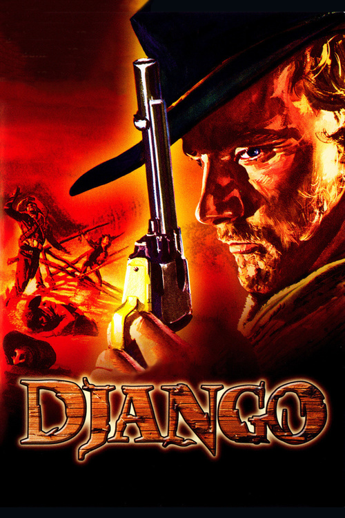 """Poster for the movie """"Django"""""""