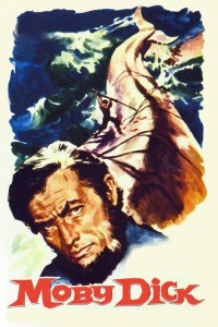"""Poster for the movie """"Moby Dick"""""""