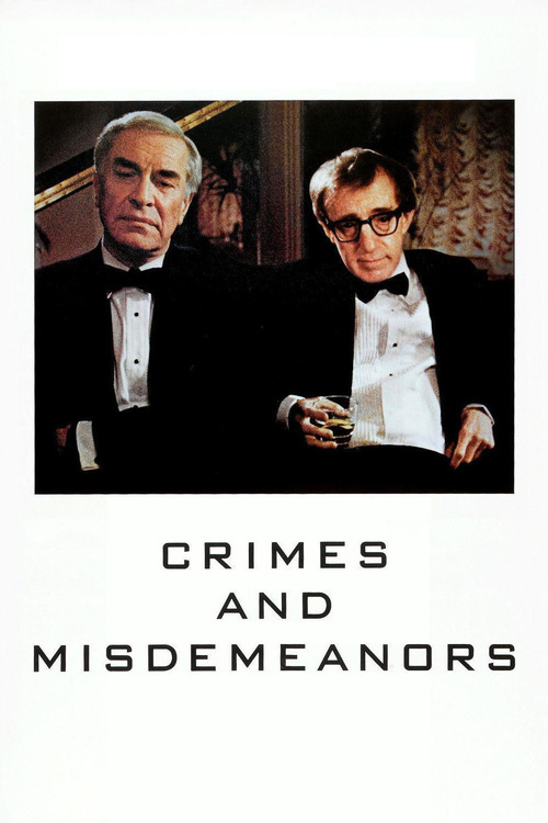 """Poster for the movie """"Crimes and Misdemeanors"""""""