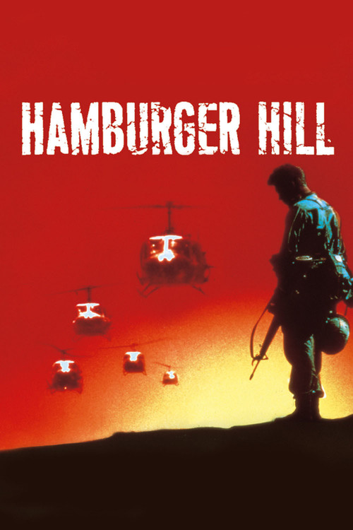 """Poster for the movie """"Hamburger Hill"""""""