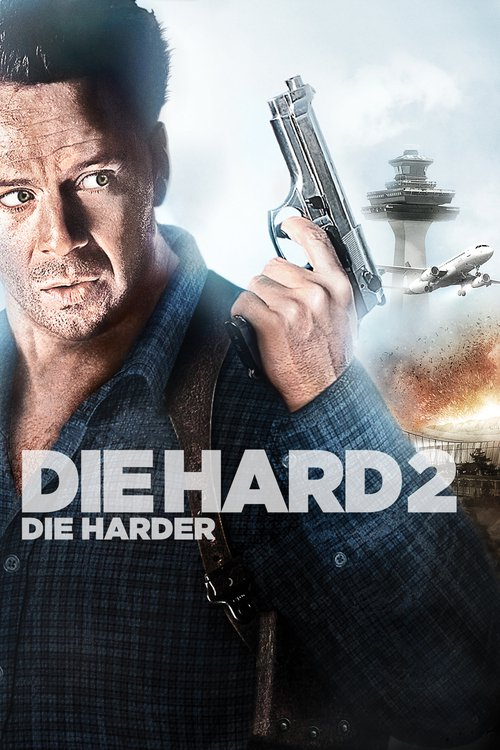 """Poster for the movie """"Die Hard 2"""""""