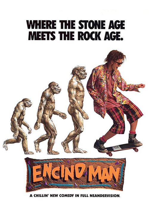 """Poster for the movie """"Encino Man"""""""