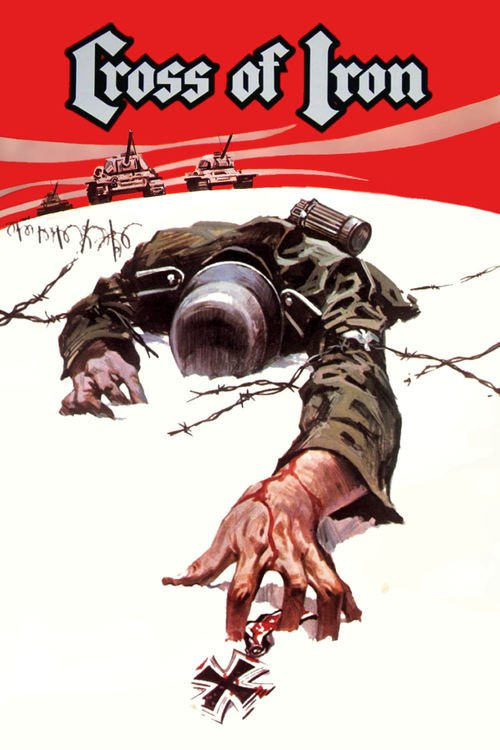 """Poster for the movie """"Cross of Iron"""""""