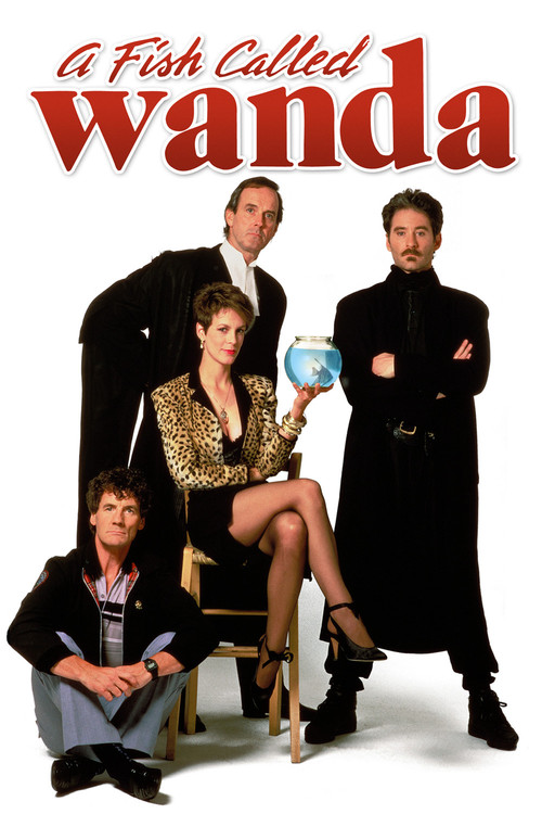 """Poster for the movie """"A Fish Called Wanda"""""""