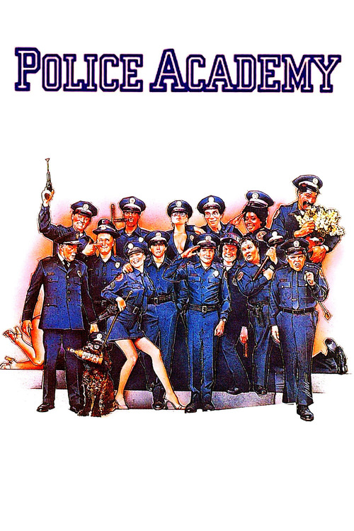 """Poster for the movie """"Police Academy"""""""