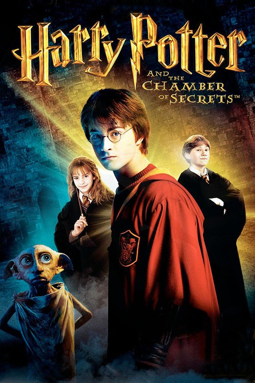 """Poster for the movie """"Harry Potter and the Chamber of Secrets"""""""