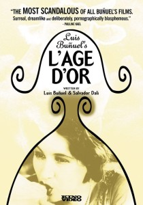 "Poster for the movie ""L'âge d'or"""