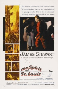 """Poster for the movie """"The Spirit of St. Louis"""""""