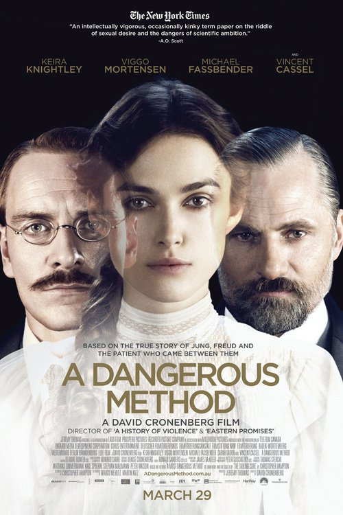 """Poster for the movie """"A Dangerous Method"""""""