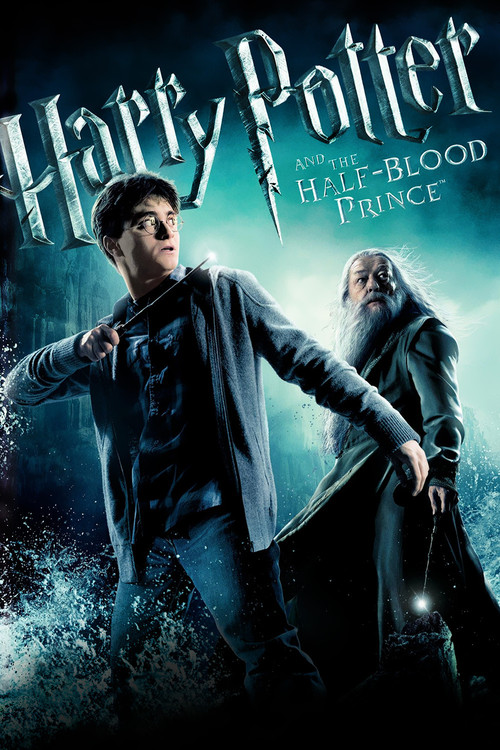 """Poster for the movie """"Harry Potter and the Half-Blood Prince"""""""