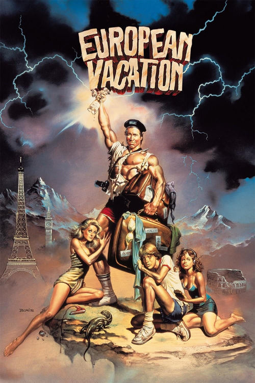 """Poster for the movie """"National Lampoon's European Vacation"""""""
