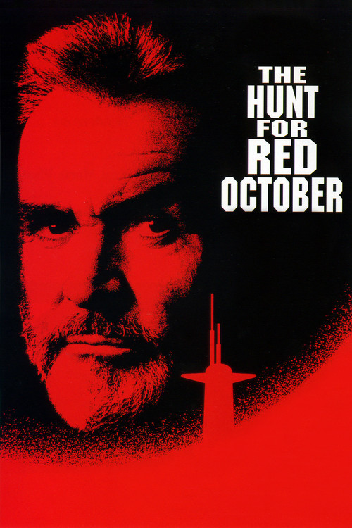 """Poster for the movie """"The Hunt for Red October"""""""