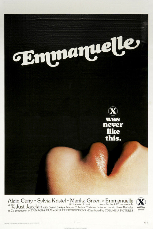 """Poster for the movie """"Emmanuelle"""""""