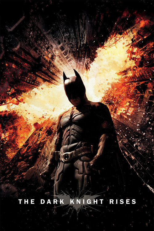"""Poster for the movie """"The Dark Knight Rises"""""""