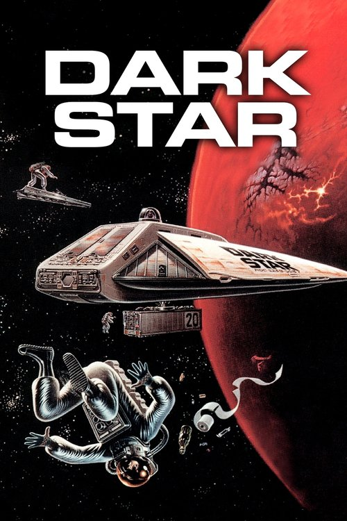 """Poster for the movie """"Dark Star"""""""