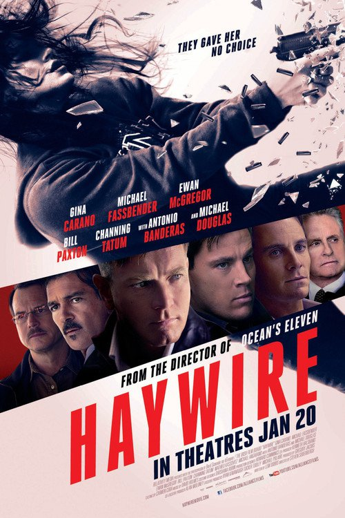 """Poster for the movie """"Haywire"""""""