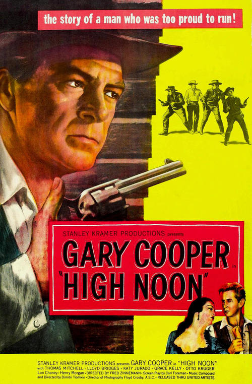 """Poster for the movie """"High Noon"""""""