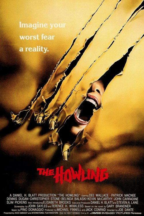 """Poster for the movie """"The Howling"""""""