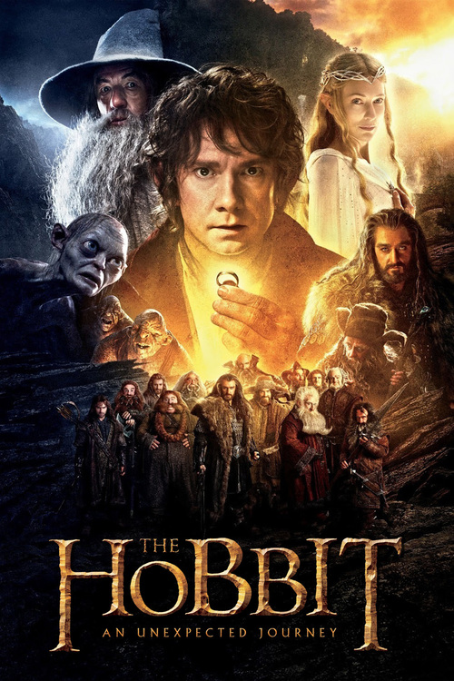 """Poster for the movie """"The Hobbit: An Unexpected Journey"""""""