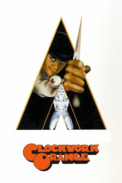 "Poster for the movie ""A Clockwork Orange"""