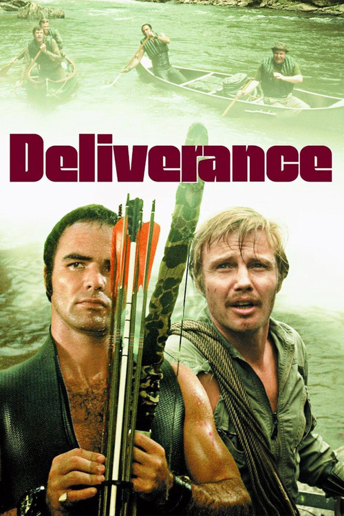 """Poster for the movie """"Deliverance"""""""