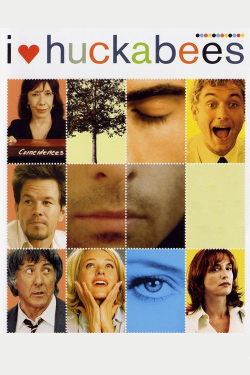 """Poster for the movie """"I Heart Huckabees"""""""