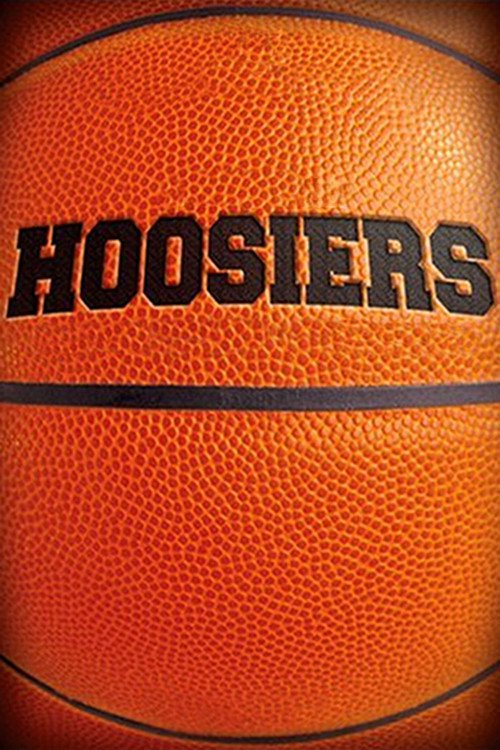 """Poster for the movie """"Hoosiers"""""""