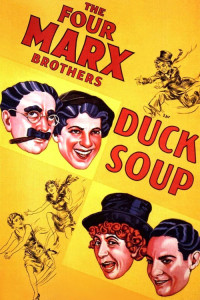 """Poster for the movie """"Duck Soup"""""""