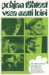 """Poster for the movie """"Pohjan tähteet"""""""