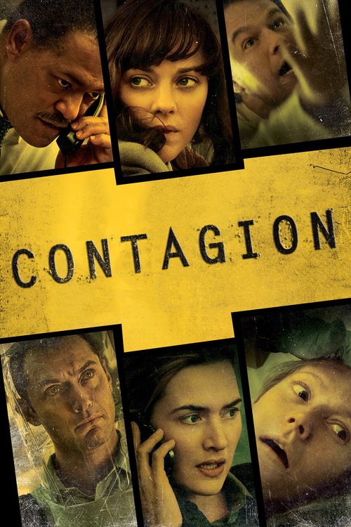 """Poster for the movie """"Contagion"""""""
