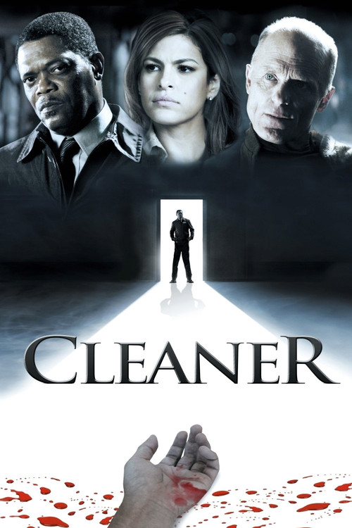 """Poster for the movie """"Cleaner"""""""