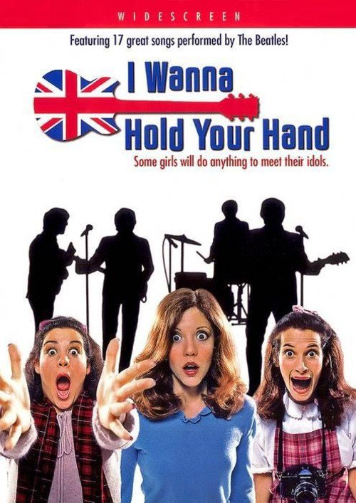 """Poster for the movie """"I Wanna Hold Your Hand"""""""