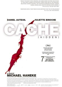 """Poster for the movie """"Caché"""""""