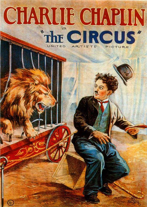 """Poster for the movie """"The Circus"""""""