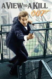 """Poster for the movie """"A View to a Kill"""""""