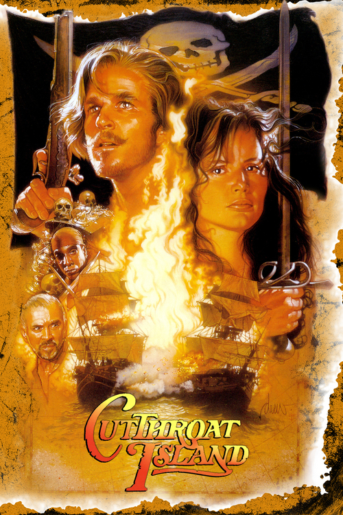 """Poster for the movie """"Cutthroat Island"""""""