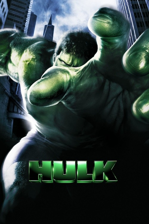 """Poster for the movie """"Hulk"""""""