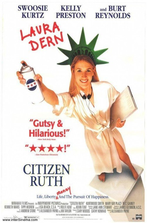 """Poster for the movie """"Citizen Ruth"""""""