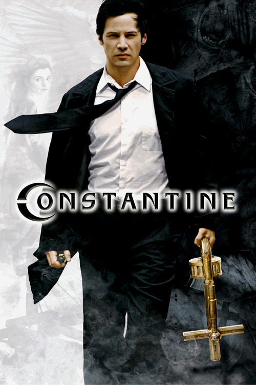 """Poster for the movie """"Constantine"""""""