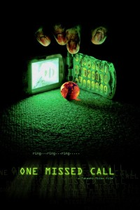 """Poster for the movie """"One Missed Call"""""""