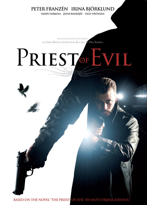 """Poster for the movie """"Priest of Evil"""""""