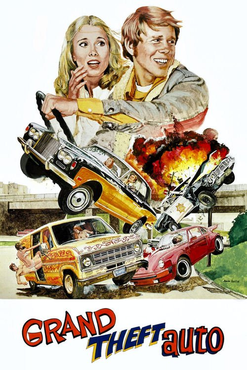 """Poster for the movie """"Grand Theft Auto"""""""